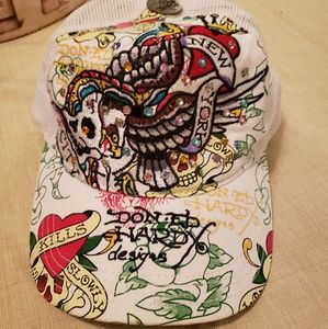 Ed hardy baseball cap